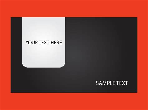 Business Card Templates Free Vector by Vector Business Card Template Vector Graphics