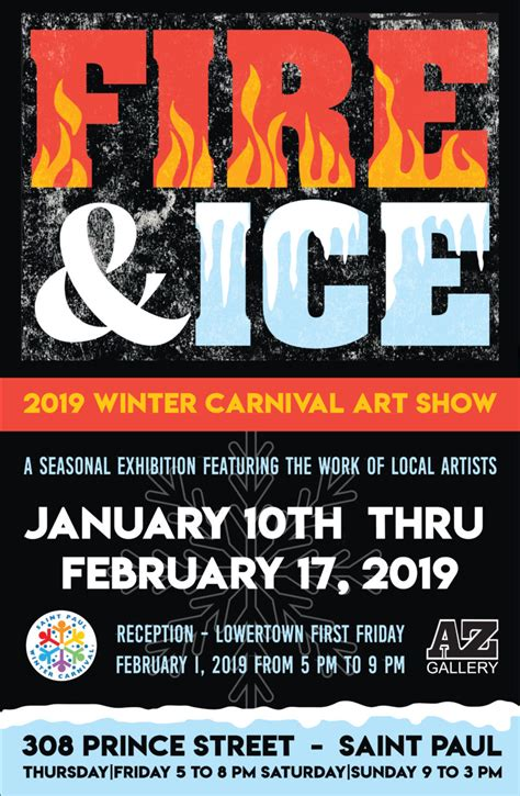 fire ice  winter carnival art show saint paul winter carnival