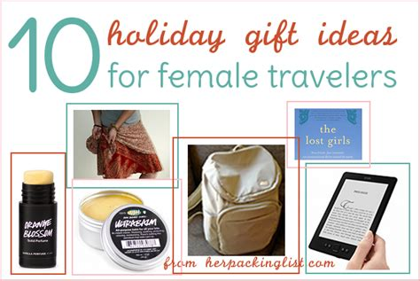 10 gift ideas for the female traveler her packing list