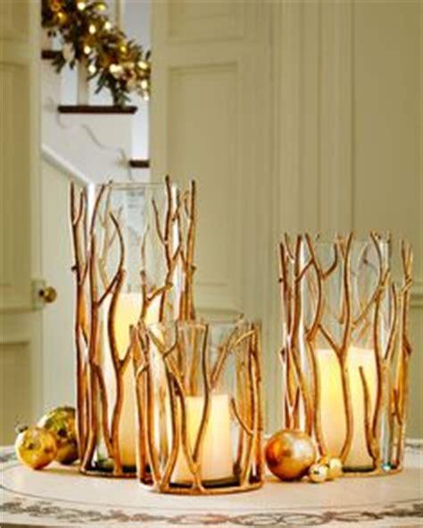 twig candleholders fall autumn decor wedding