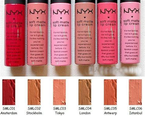 Lipstik Nyx Matte Amsterdam nyx soft matte lipstick amsterdam products