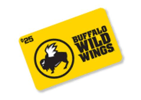 Buffalo Wild Wings Gift Card - free buffalo wild wings 25 gift card gift cards listia com auctions for free stuff