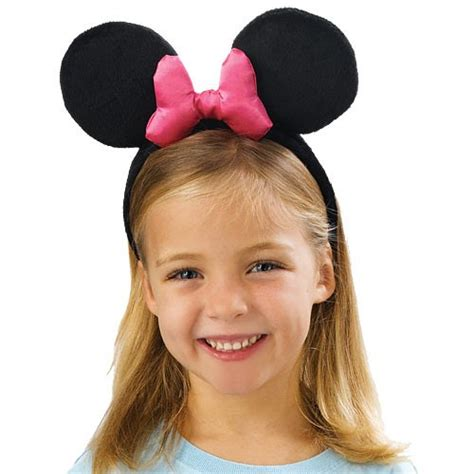 hairstyles with minnie mouse headband disney minnie mouse ears headband birthdayexpress com