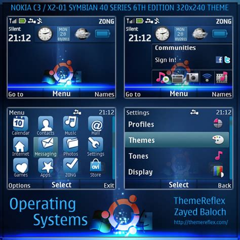 themes for mobile x2 01 operating systems live theme for nokia c3 x2 01 updated