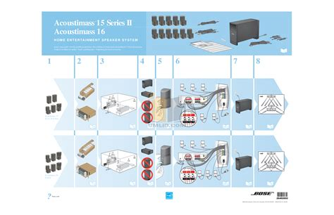 free pdf for bose acoustimass 16 series ii