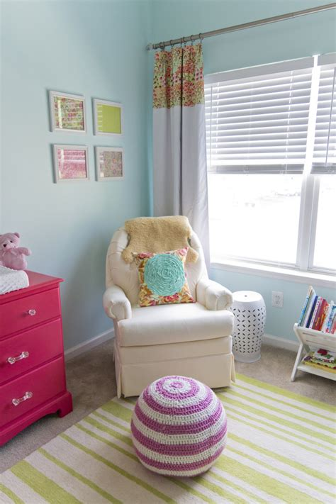 pink and green nursery baby p s cheerful aqua pink and green nursery project