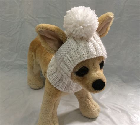 knitted hats for dogs pet clothes apparel winter knit hat for small dogs