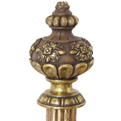 drapery rods and finials menagerie 38wf06 constable finial drapery hardware atg