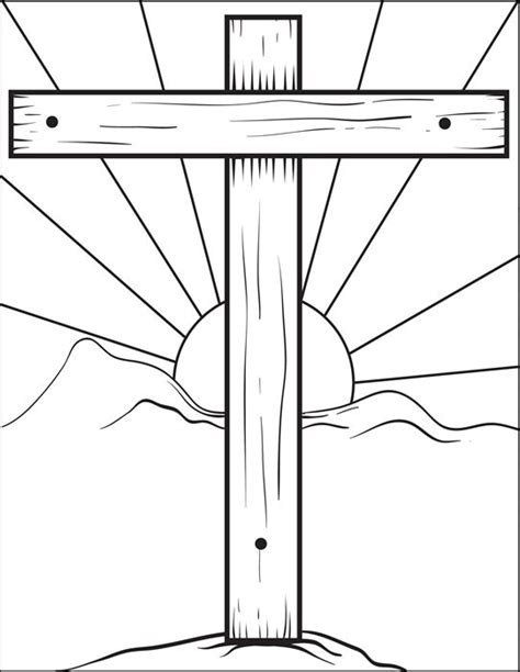 easy easter coloring pages religious 17 best images about easter and crosses templates on