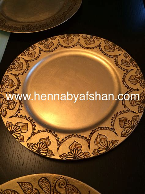 henna design plate henna tray www hennabyafshan com pinterest hennas