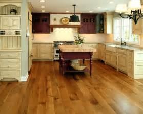 Kitchen Hardwood Floors Rift Quartered White Oak Farmhouse Kitchen Chicago By Allegheny Mountain Hardwood Flooring