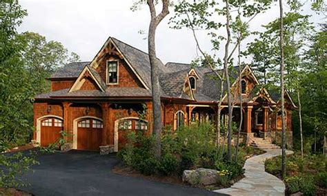 rustic craftsman home plans mountain craftsman home plans