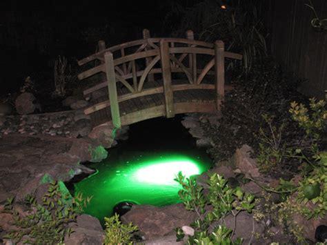 underwater led lights for ponds green 3w submersible underwater koi pond led light
