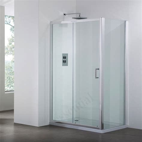 1000mm Shower Door April Destini 1000mm Sliding Shower Door Ap9323s