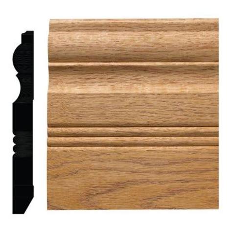 ornamental mouldings 3 4 in x 6 1 2 in oak