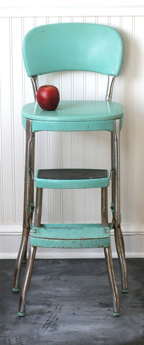 Vintage Cosco Kitchen Chair Fold Out Step Stool by 9 Best Step Stool Images On Banquettes Step