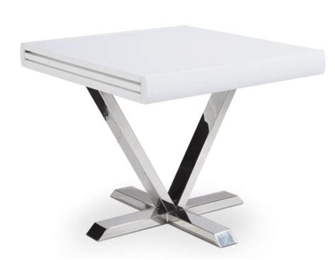 Table Blanche Extensible by Table Carr 233 E Extensible Blanche Selena 90 180 Cm