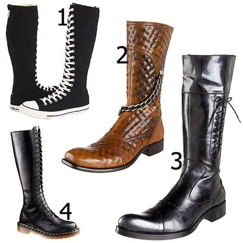 high boots for mens knee high boots for fashion