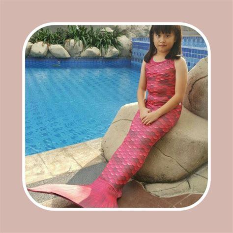 Baju Anak Baju Renang Mermaid Size S10 15 Kg Kostum Anak 1 detail dan harga baju putri duyung fanta backless toko