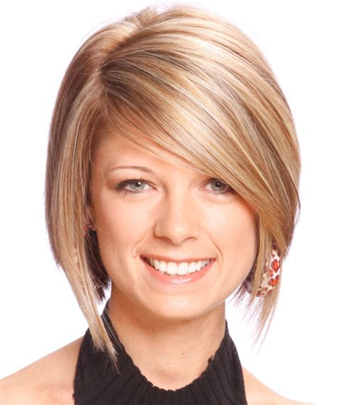 medium haircuts with straight hair and front cowlick medium straight formal hairstyle medium blonde