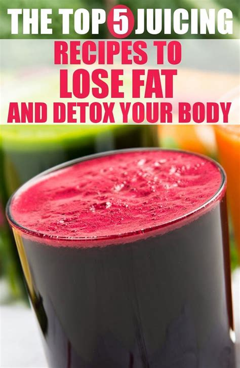 Lose Baby Weight 3 Day Detox by The Best Juicing Recipes For Weight Loss And Detox