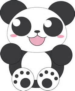 Panda Outline Drawing by Panda Outline Pictures