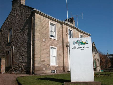 Jim Clark Room by Jim Clark Biography On Undiscovered Scotland