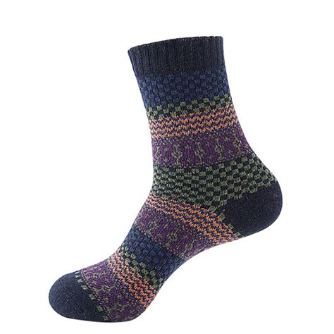 comfortable socks for women warm comfortable men womens winter floral wool cashmere