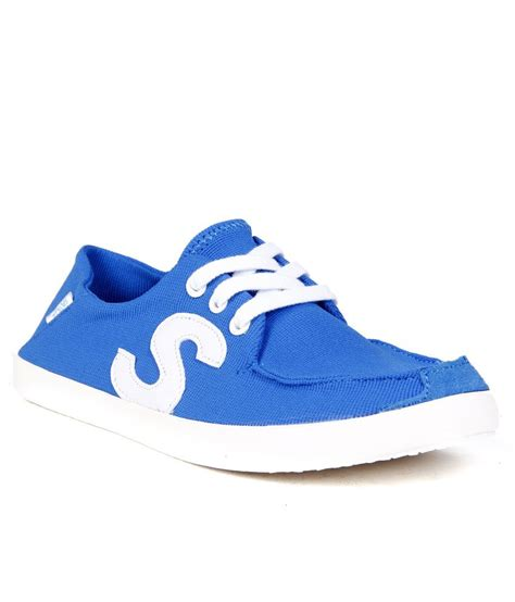 steppings funky blue casual shoes buy s casual