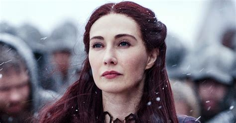 game of thrones actress red woman watch game of thrones red woman reveal spoilers