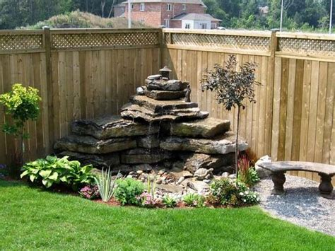 water in backyard amazing diy water feature ideas on a budget s crafts