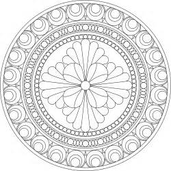mandala to color buddhist mandala coloring pages