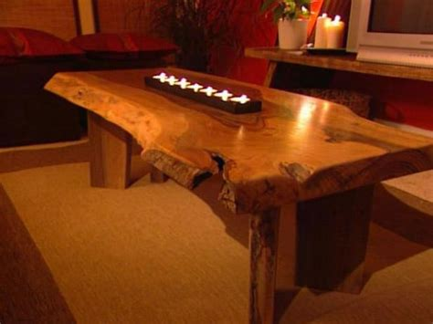 how to build dining room table build a walnut slab coffee table hgtv