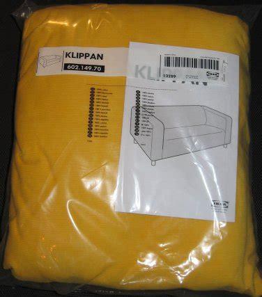 yellow sofa cover ikea klippan sofa slipcover cover leaby yellow corduroy cotton