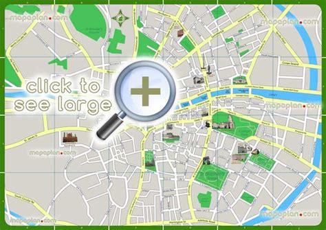 Printable Street Map Dublin City Centre | dublin maps top tourist attractions free printable
