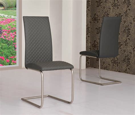 faux leather dining chairs grey grey faux leather dining chairs homegenies