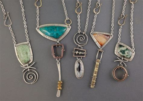 Handmade Jewelry Stores - handmade mixed metal jewelry by maggie joynt
