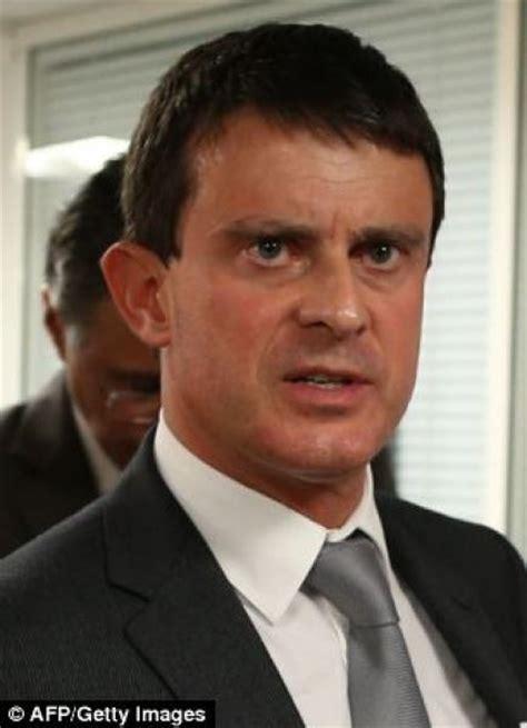 ministro degli interni il ministro degli interni francese manuel valls dago