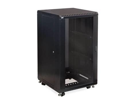 glass door server cabinet 22u linier 174 server cabinet glass glass doors 24 quot depth