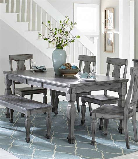 grey wood dining room table and chairs dining room extraordinary gray wood dining chairs grey
