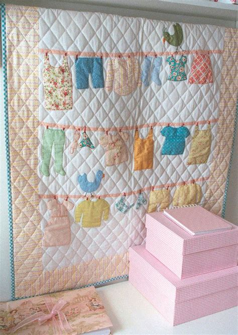 Quilt Pattern With Baby Clothes | baby clothes quilt clothes line and patterns on pinterest