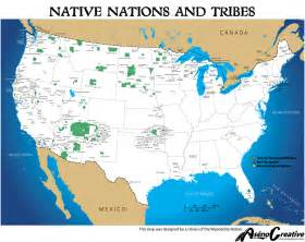 Map Of Native American Tribes In The United States by Cross Water Ministries