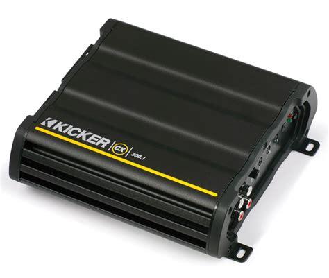 Power Kicker Ex450 4 Aplifier 4 Channel Class Ab New kicker cx300 1 mono d class nickel plated rca level input cx series lifier kic13 12cx300 1 rs
