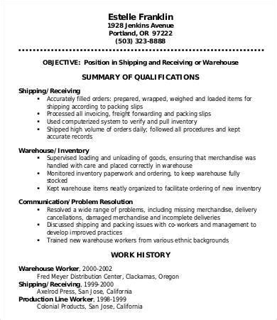 warehouse resume format ideas book report setting management resume assistant
