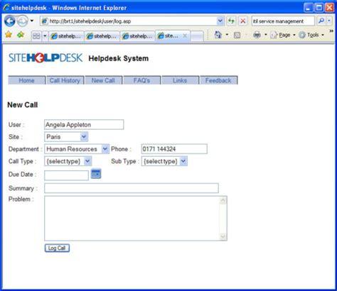 Help Desk Software Sitehelpdesk 7 8 Screenshots Computer Help Desk Software