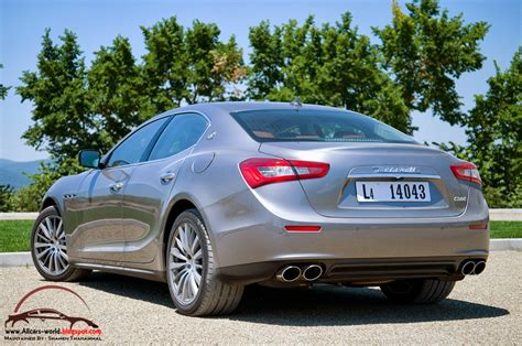 Maserati Ghibli 2014 Price by 2014 Maserati Ghibli Release Date Price Review Redesign