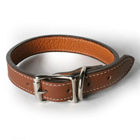 soft collar for dogs soft italian leather collar