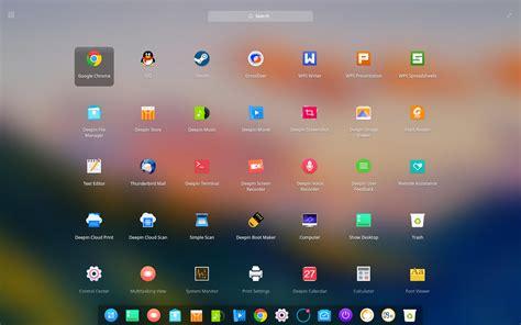 desktop environment deepin technology community