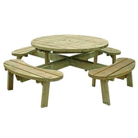round garden bench 25 best ideas about round picnic table on pinterest