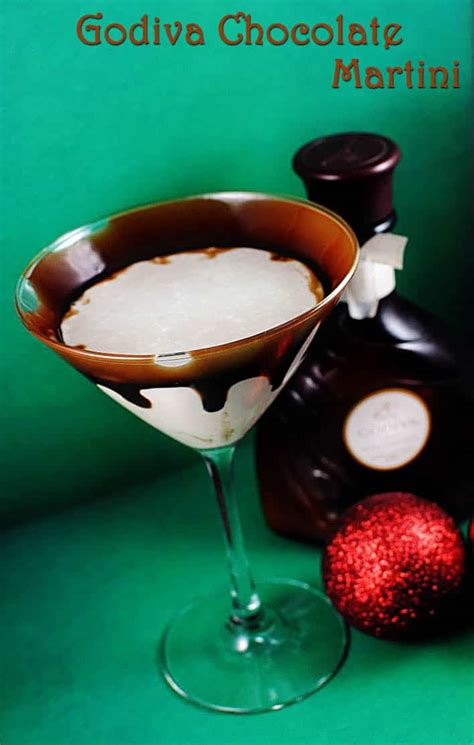 chocolate martinis holiday recipes chocolate and eggnogg martinis